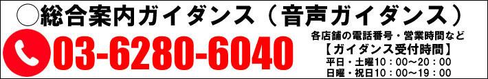 総合案内ガイダンス(音声ガイダンス)