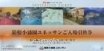 箱根小湧園ユネッサン(森の湯)入場引換券