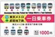 東京メトロ・都営地下鉄共通一日乗車券