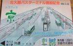 トラフィカ京カード(京都市交通局)1,000円券