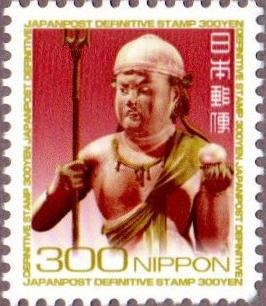 旧・普通切手300円シート(1シート100枚構成)