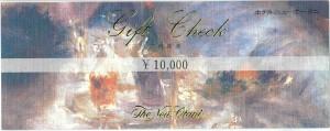 ホテルニューオータニご利用券 10000円券