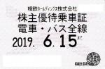 相模鉄道(相鉄)株主優待(定期型)電車・バス(19/6/15)