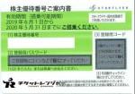 SFJ(スターフライヤー)株主優待券 <2019年6月1日〜2020年5月31日期限>