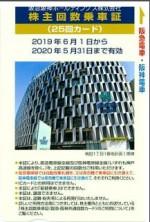 阪急阪神HD優待カード 25回 2020年5月31日期限