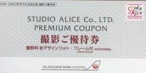 スタジオアリス撮影ご優待(撮影料+デザインフォトフレーム付/8000円相当)