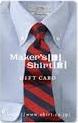 メーカーズシャツ鎌倉(Maker's Shirt鎌倉)旧パターンオーダーシャツギフトカード(増税前 税込17,064円分)