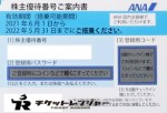 ANA(全日空)株主優待券 <2021年6月1日〜2022年5月31日期限> ブルー