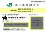 JR東日本株主優待券(1枚で運賃料金が4割引)<2021年6月1日〜2022年5月31日期限>
